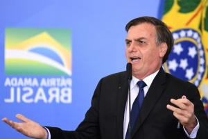 Racism 'rare' in Brazil, says far right Bolsonaro