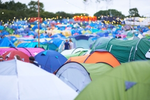 Single-use 'festival tents' should be banned, campaigners say