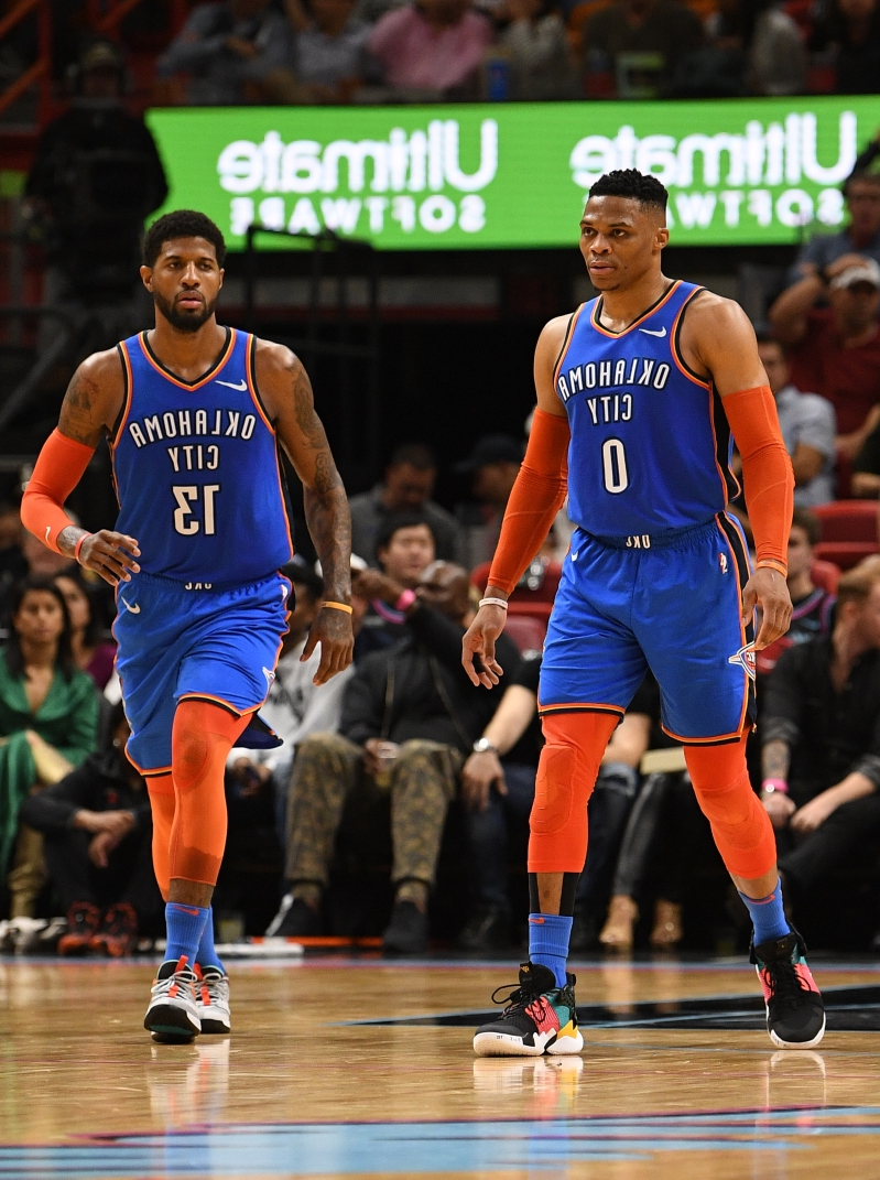 Thunder's Russell Westbrook, Paul George undergo surgery