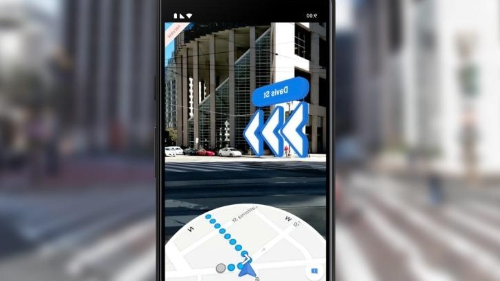 Tech & Science : Google Maps' AR navigation makes walking ... Google Map Walking Directions on maps driving directions, google world map, maps and directions, bing maps walking directions, google mapss, map for directions,