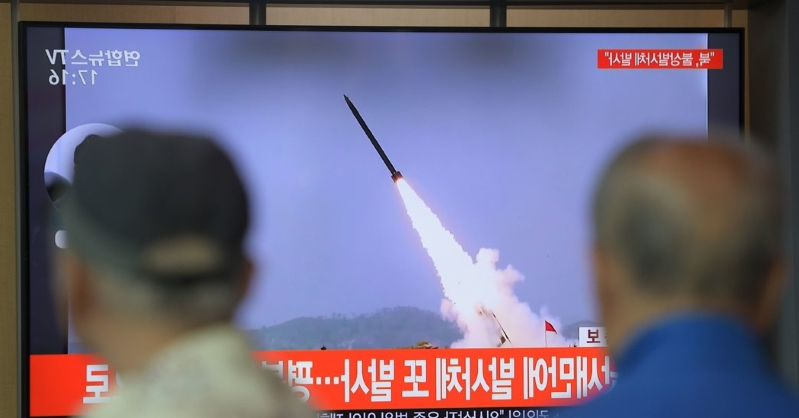 North Korea Fires Two Short-Range Ballistic Missiles, South Says