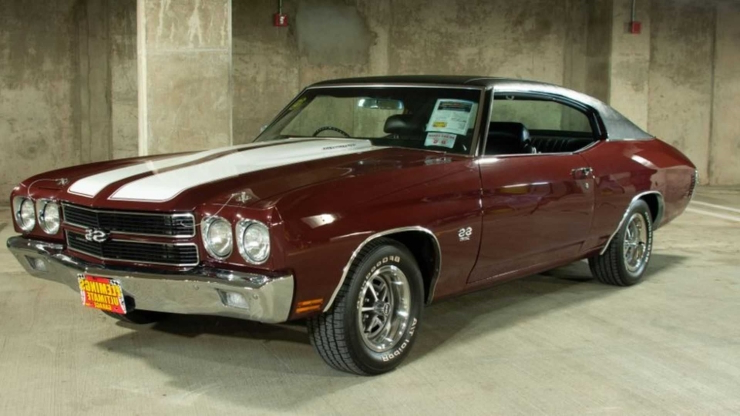This 1970 Chevrolet Chevelle SS396 Is A True Legend