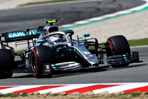 Bottas fastest again, leads Mercedes one-two in FP2
