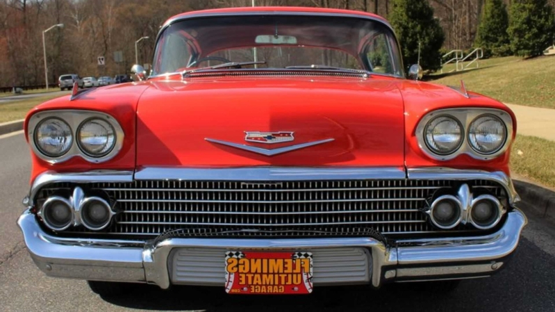 Cruise Smooth With This 1958 Chevrolet Impala