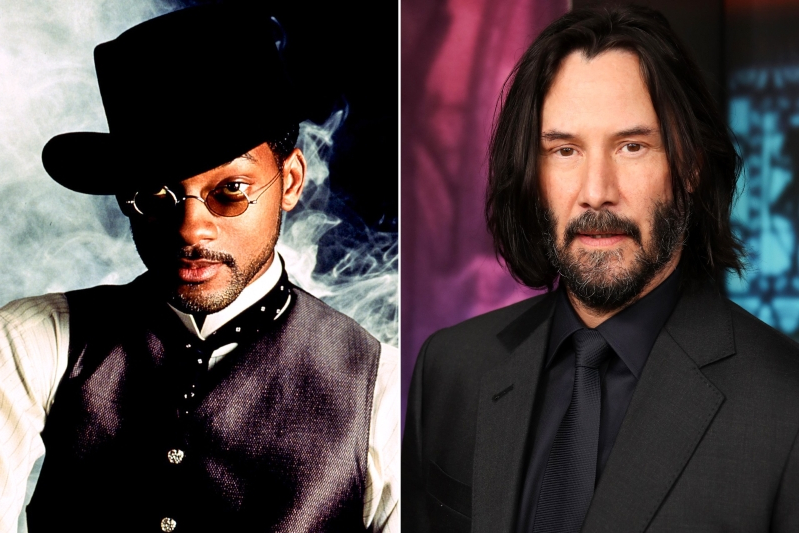 Is Keanu Reeves the world's biggest Wild Wild West fan?