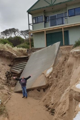 'We're just gobsmacked': Freak weather destroys life saving club