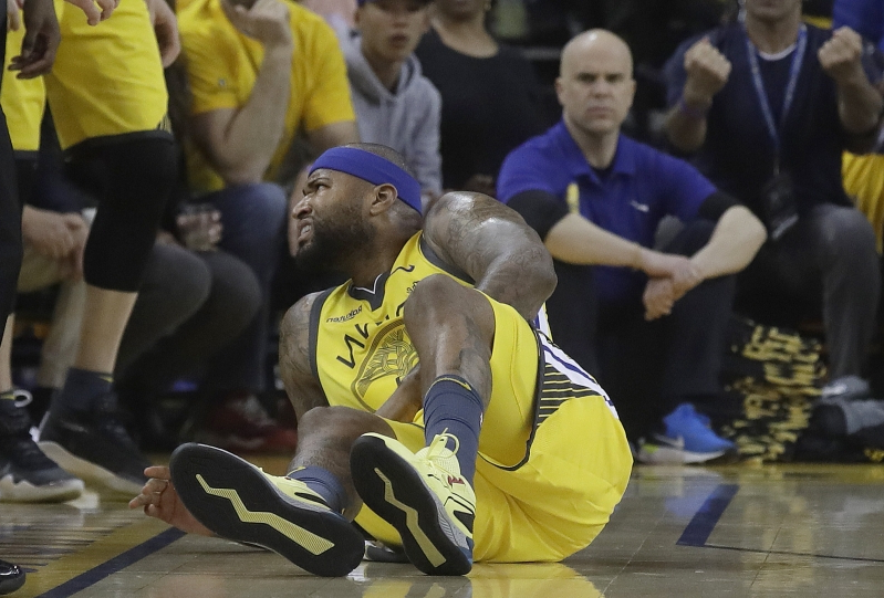 f2b487c42 Sport  DeMarcus Cousins  on course  to return for Western Conference ...
