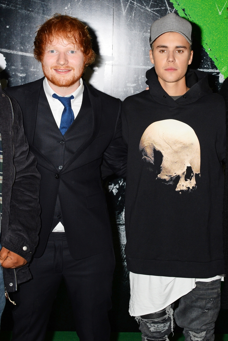Justin Bieber and Ed Sheeran accused of plagiarism with new single