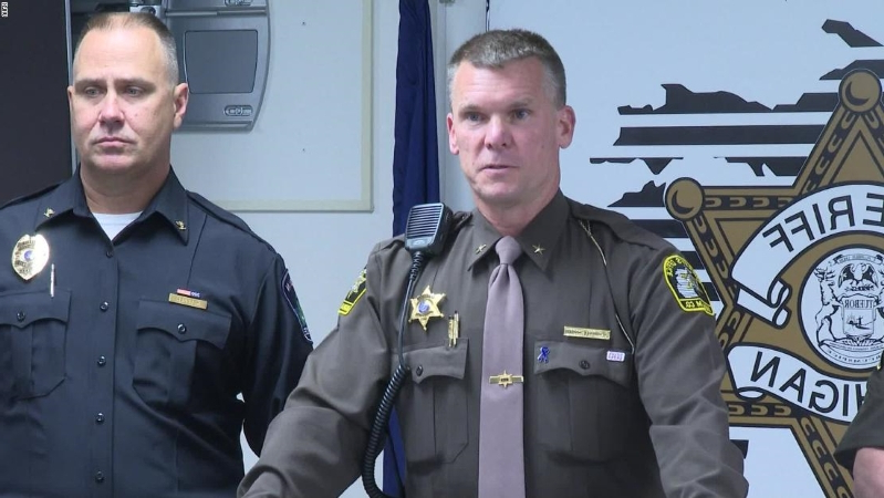 Michigan deputies stop a man who was 'on a killing spree'