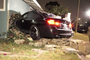 Driver Flees After Crashing Car Through La Puente Couple's Home