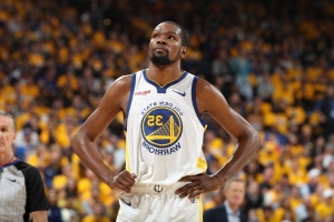Report: Kevin Durant won't play Game 1 for Warriors, not likely to play Game 2