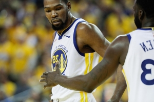 Warriors' Kevin Durant to miss at least Game 1 of conference finals