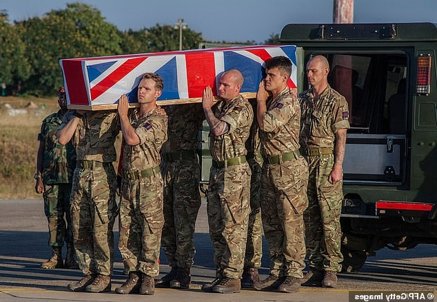 Body of British soldier, 22, killed protecting elephants from poachers in Malawi is returned to the UK