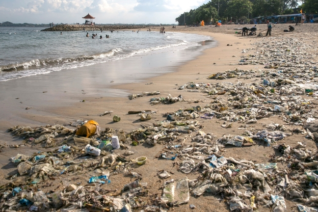 Coca-Cola, Pepsi and McDonald's are among the ten brands that account for more than HALF of the rubbish on beaches and in rivers, pollution campaigners say