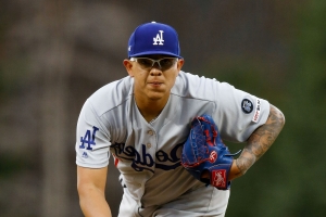 Dodgers pitcher Julio Urias arrested on suspicion of domestic battery