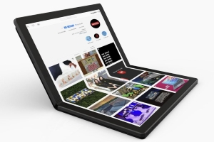 Lenovo is making an all-screen foldable laptop