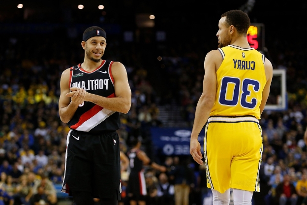 warriors-trail blazers - photo #1
