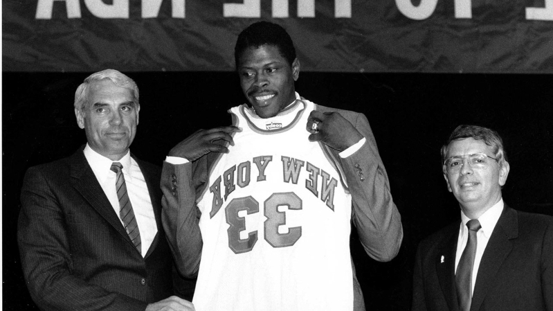 Why the Patrick Ewing draft lottery conspiracy is ridiculously awesome