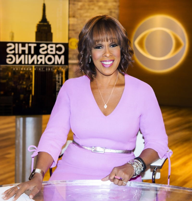 Gayle King met privately with Prince Harry, Duchess Meghan days before their son's birth