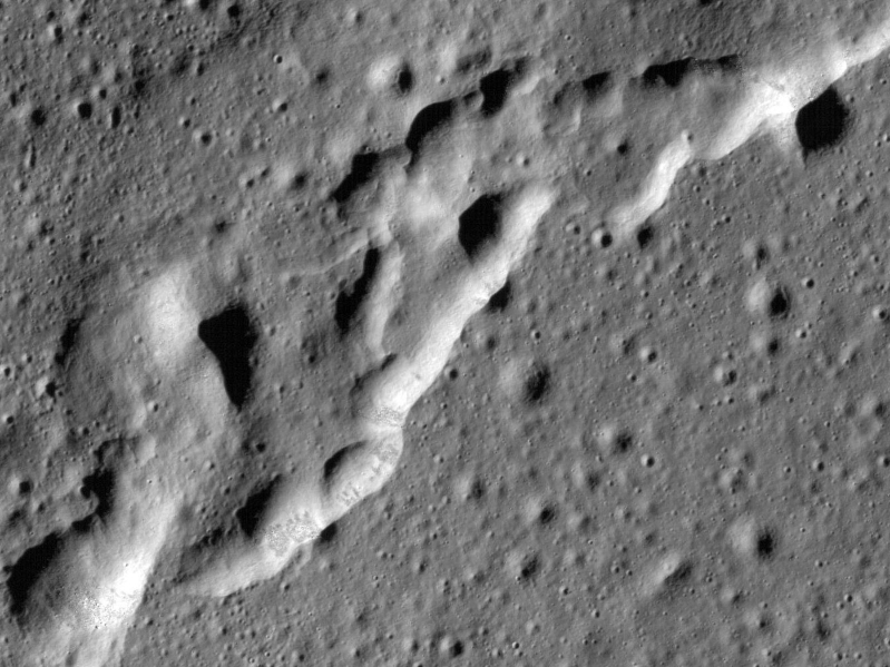 Moon appears to be active below the surface, scientists say