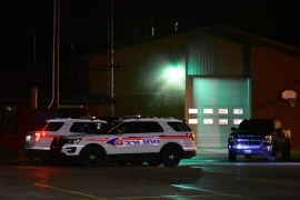 Mother of baby left outside fire hall urged to contact police