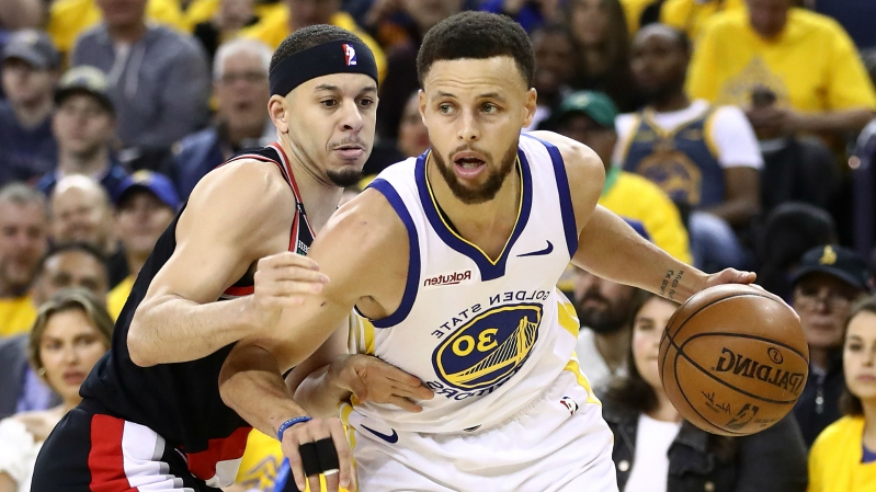 NBA playoffs 2019: Steph Curry aims to maintain shooting surge as parents show split loyalties