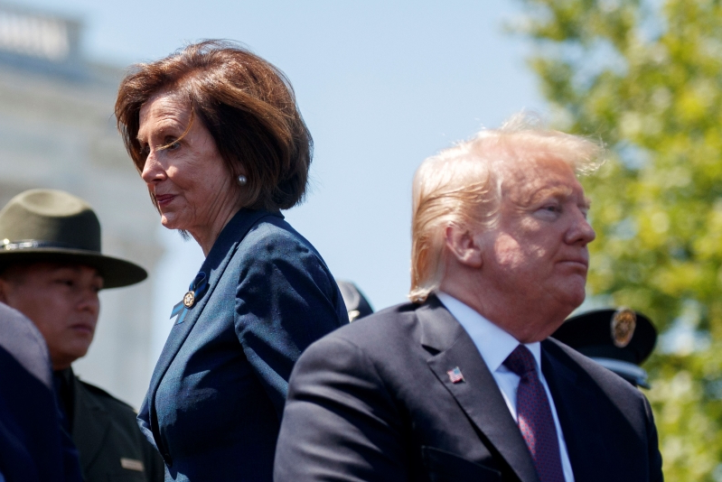 Pelosi warns Trump against war in Mideast; Dems demand info