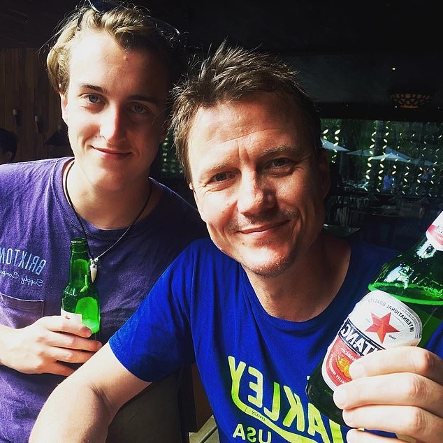 Sports broadcaster James Brayshaw's son, 22, pleads guilty to punching and threatening to glass and stab a millionaire real estate boss during drug-fuelled NYE rampage