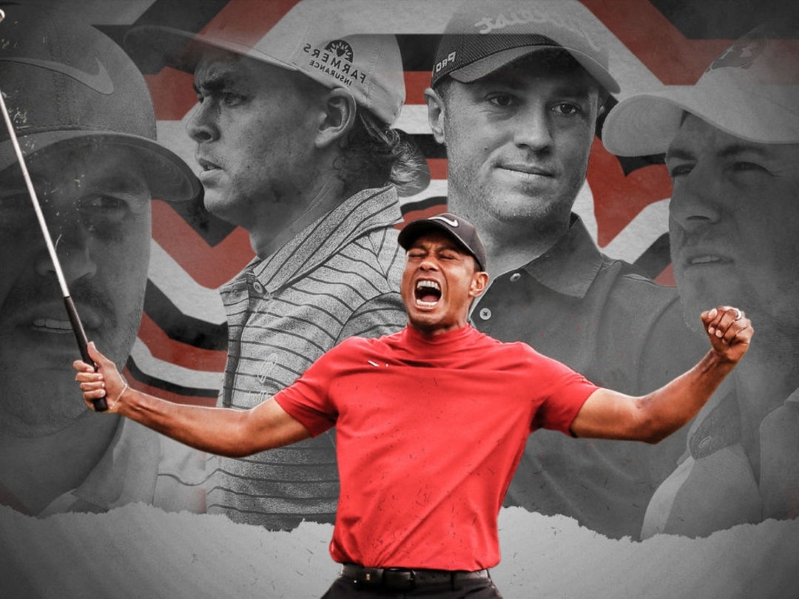 Tiger Woods inspired a generation. Now he's their fiercest competition