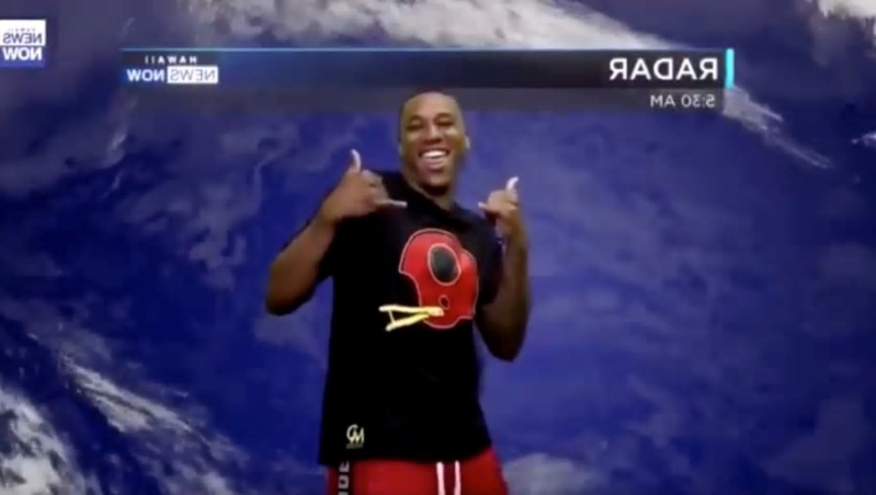 VIDEO: Rams CB Marcus Peters Hilariously Guest Stars as Weatherman on Hawaiian News Channel