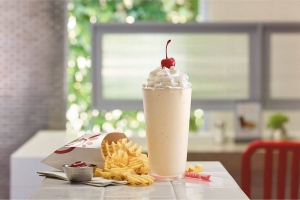 Chick-fil-A's Fan Favorite Peach Milkshake Returns This Month
