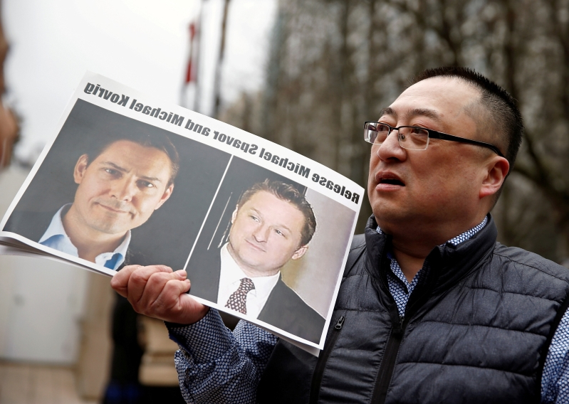 China formally accuses Canadians of espionage as Huawei standoff intensifies