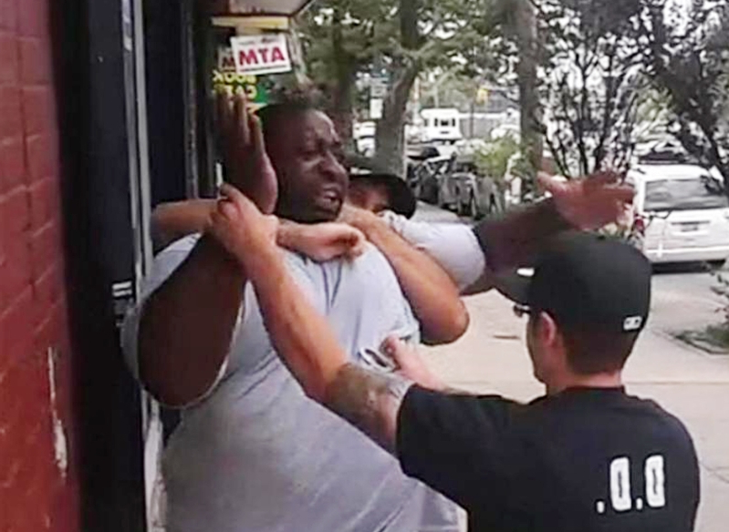 'Not a big deal': NYPD lieutenant shrugs off Eric Garner's death moments after 2014 clash