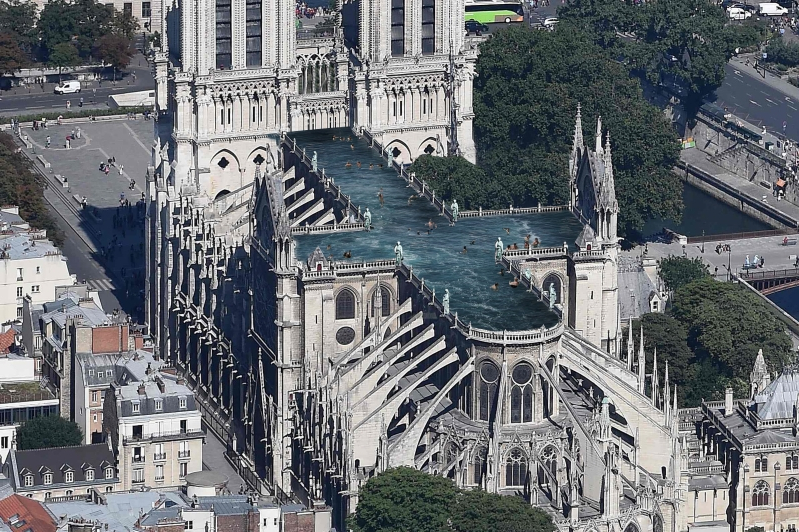 Seven of the most outrageous proposals for Notre-Dame