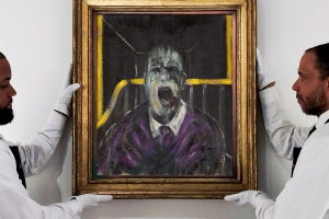 One of Francis Bacon's 'screaming popes' sells at auction for £39m