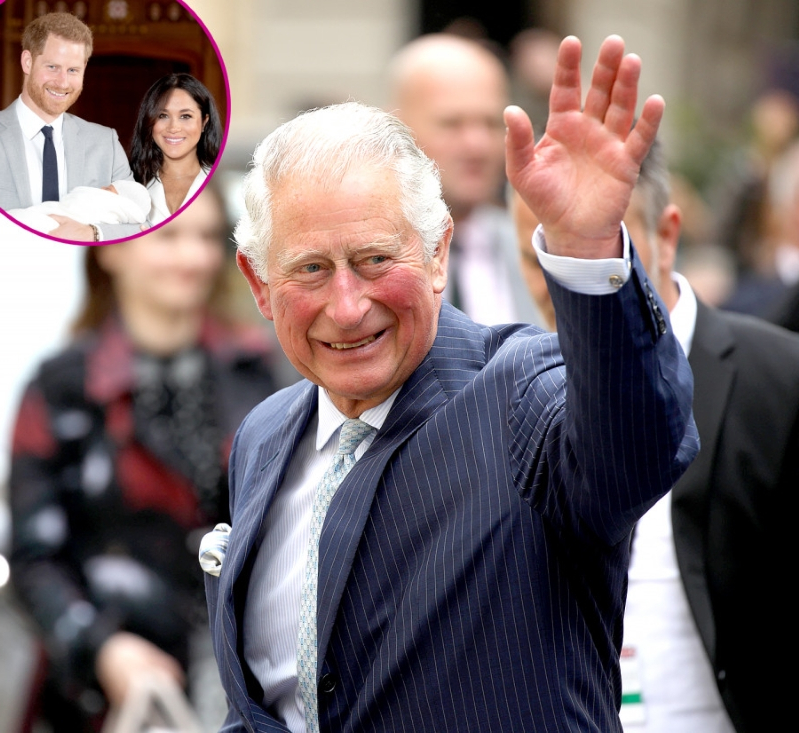 Entertainment: Proud Grandpa! Prince Charles Visits Harry