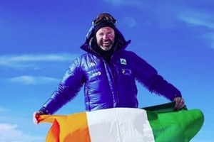 Search called off for Irish dad Seamus Lawless who fell while descending Mount Everest