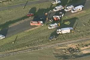 Two dead in a horror crash in regional Victoria