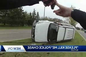 Woman pulled over for speeding takes off, crashes
