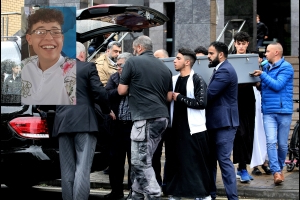 Hundreds of mourners attend funeral prayer of tragic teenager Azzam