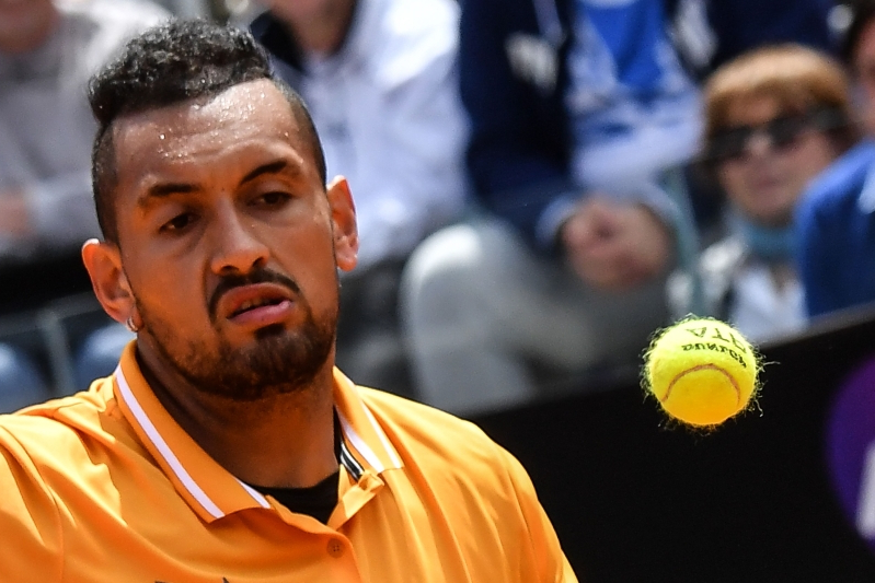 Kyrgios in war of words with Nadal family