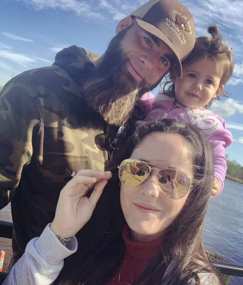 Did Jenelle Evans and David Eason bring a gun to court with them?