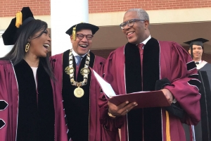 Billionaire philanthropist shocks Morehouse grads by promising to pay off loans