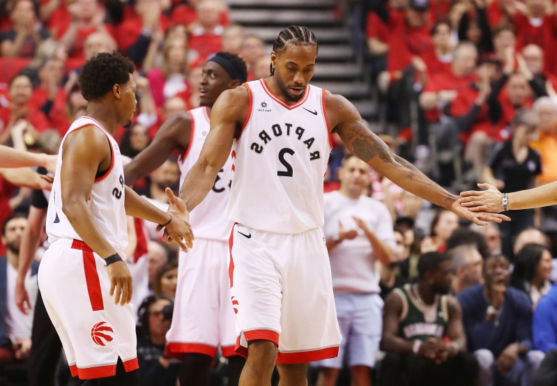 Kawhi Leonard saved the Raptors' season for the second Sunday in a row