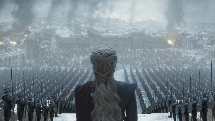 The 'Game of Thrones' Series Finale Had Another Coffee Cup Moment -- This Time With a Water Bottle