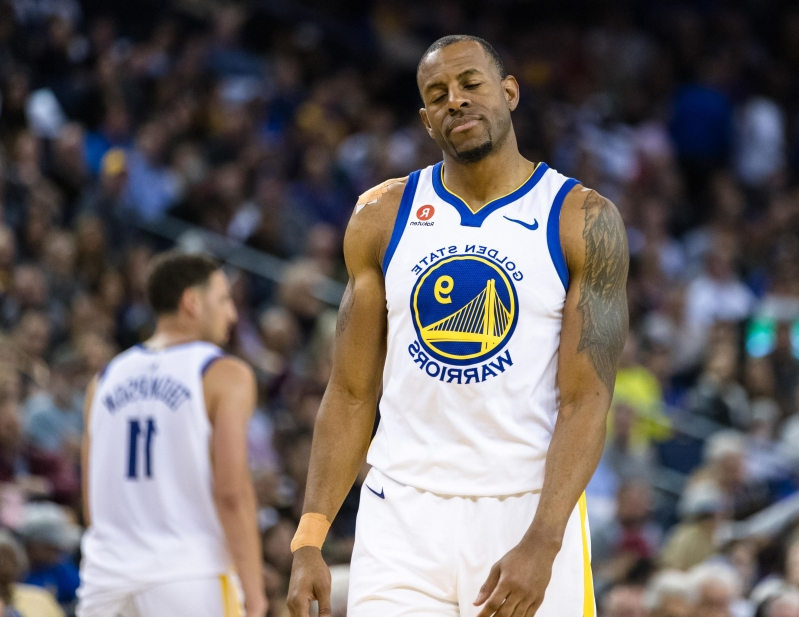 Will Andre Iguodala miss Western Conference Finals Game 4?