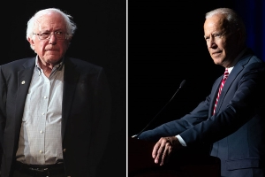 Biden, Sanders tied atop new Iowa poll