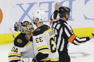 Bruins' Chara says he's on track for Stanley Cup Final