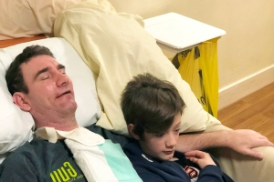 Dad with Rare Locked-In Syndrome Is Only Able to Move His Eyes