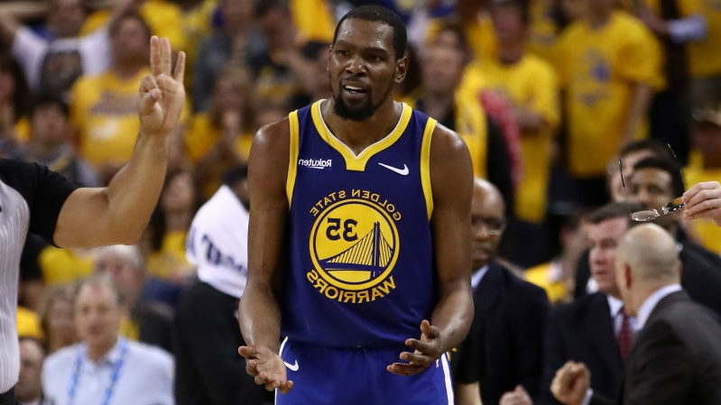 906a6614e57 Kevin Durant challenges comments from Fox Sports' Chris Broussard, Twitter  trolls